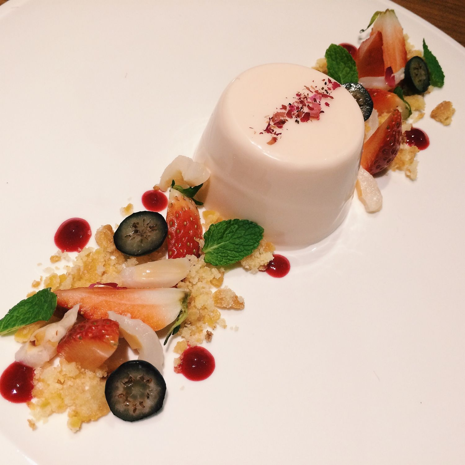 Rose Yogurt Panna Cotta - Selfish Gene Patisserie