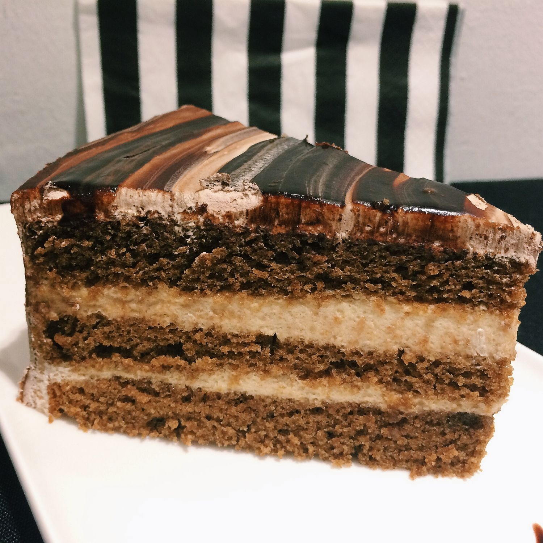 Yam Coffee Bailey Cake - Monochrome Fusion Bistro