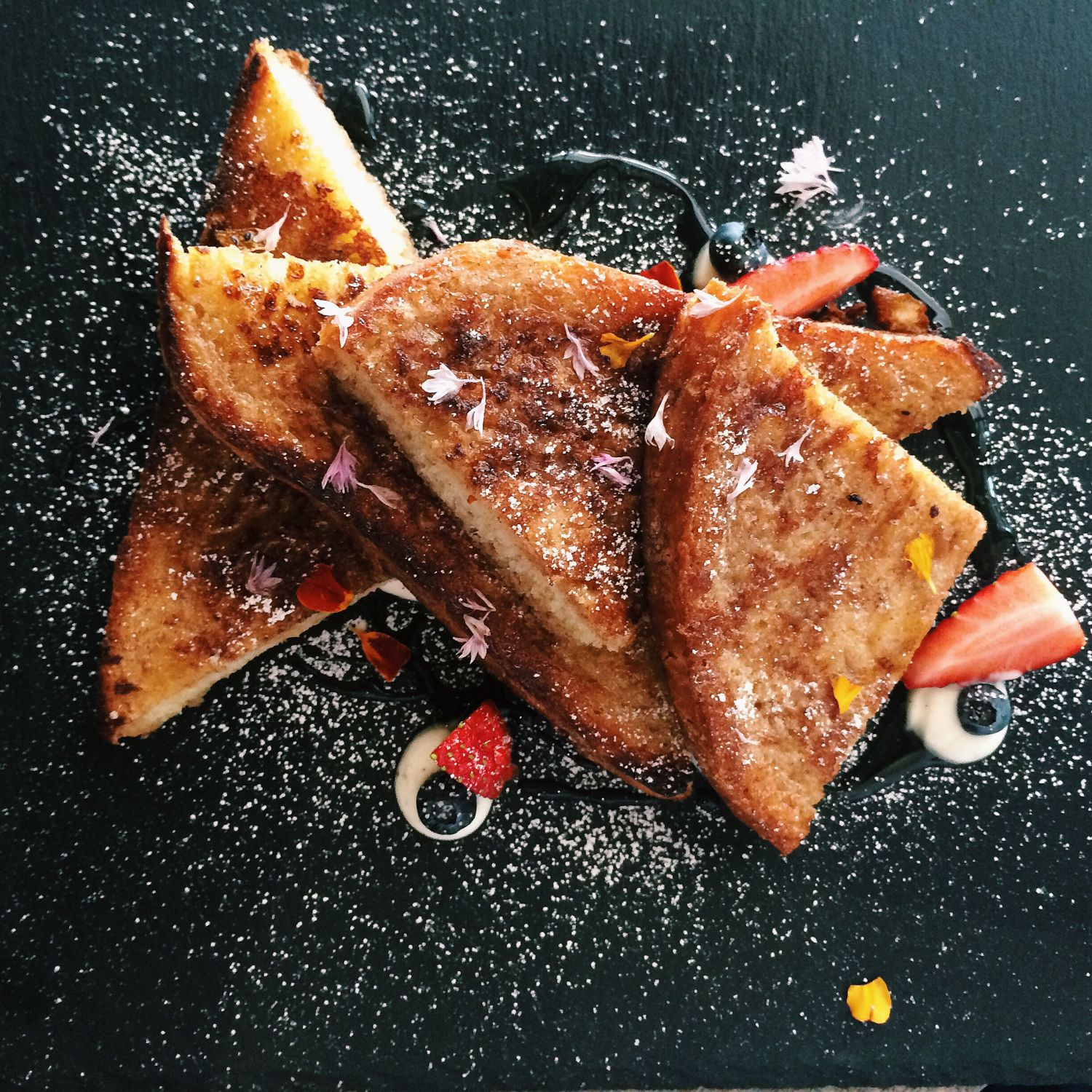 Truffle-Honey French Toast - Bridge