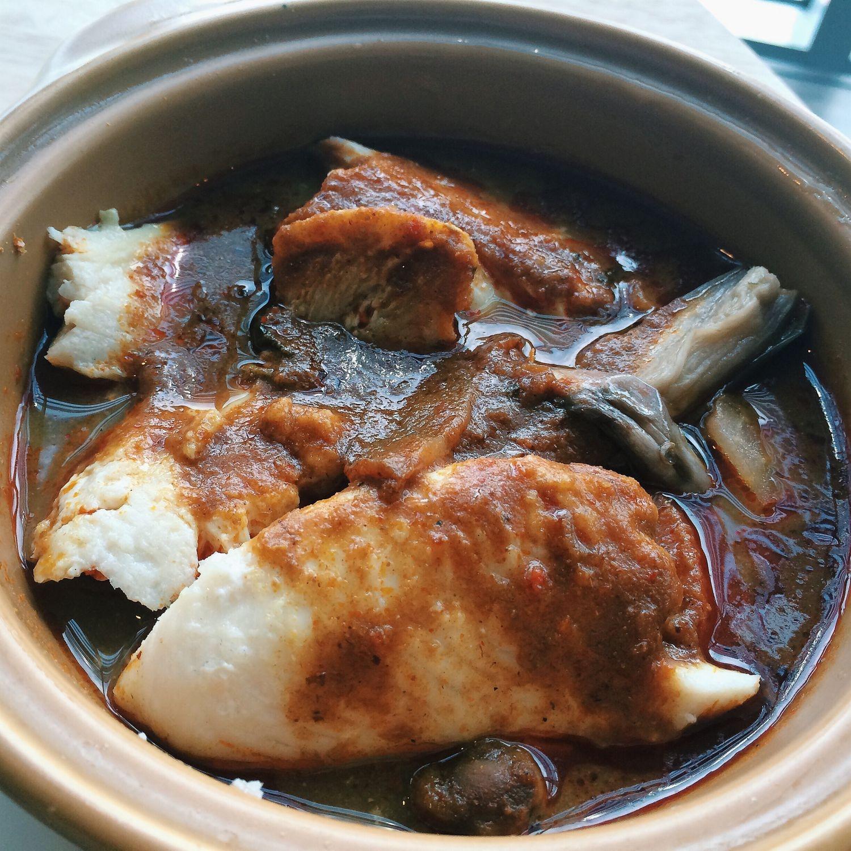 Nyonya Assam Pedas Fish - 5 Little Monkeys Cafe