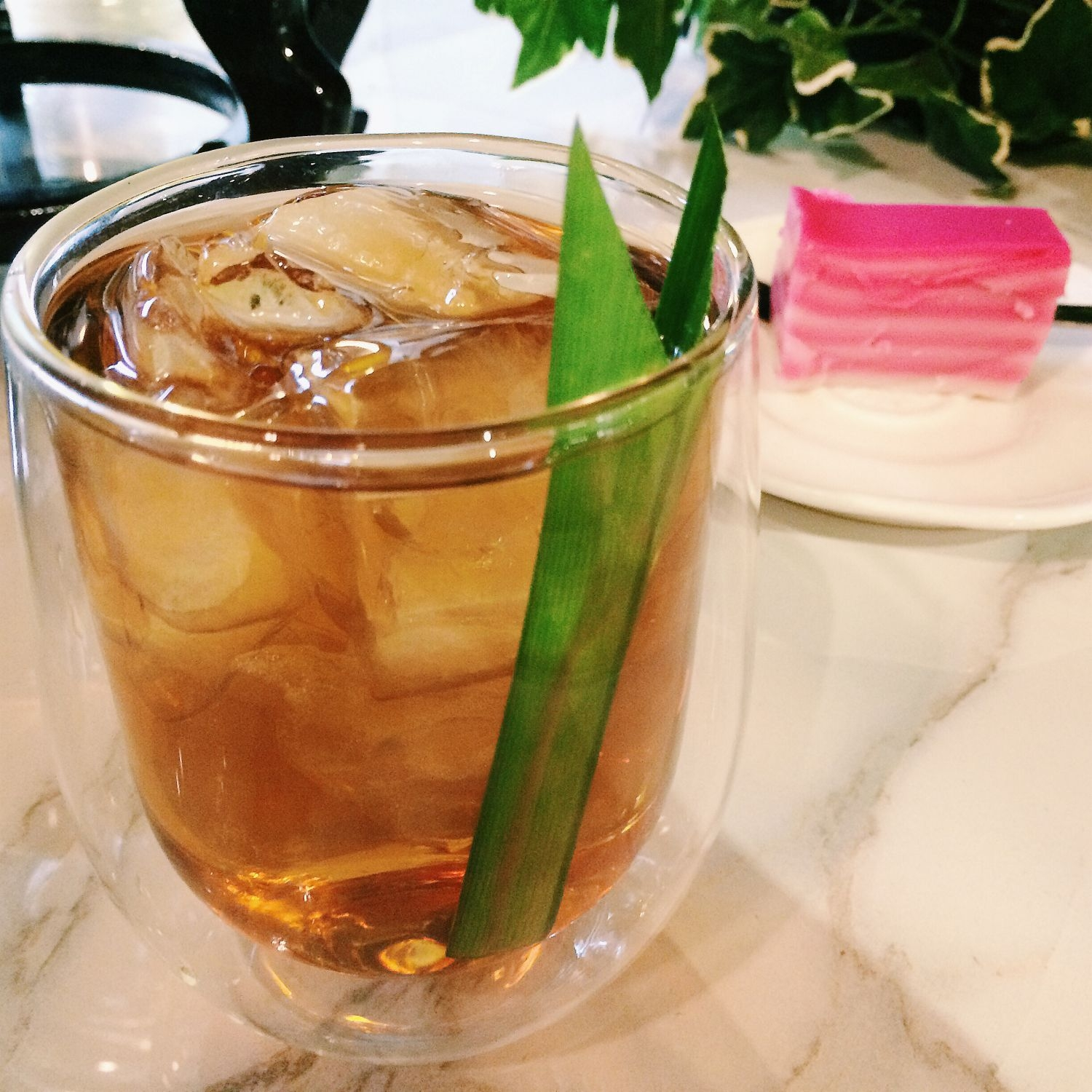 Pandan Chiffon Cold Brew - Nest Tea Bar