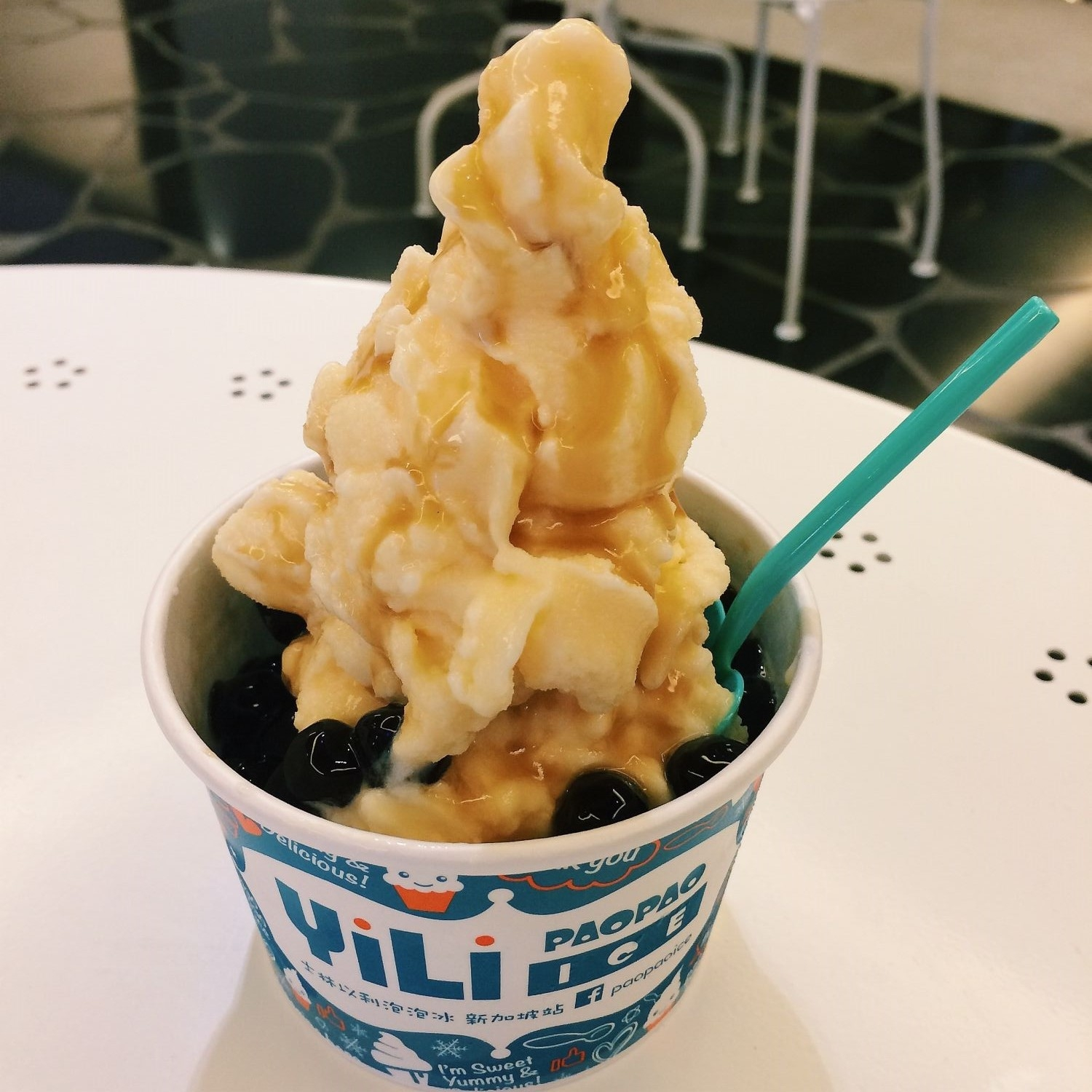 Boba Milk & Egg - Yili Paopao Ice