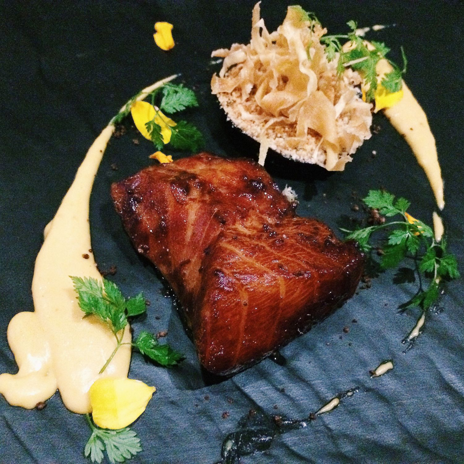 Marinated Red Miso Cod - Violet Herbs
