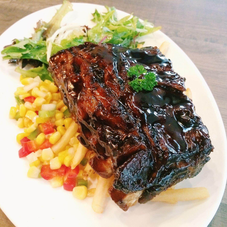 BBQ Baby Back Ribs - Roosevelt's Diner & Bar