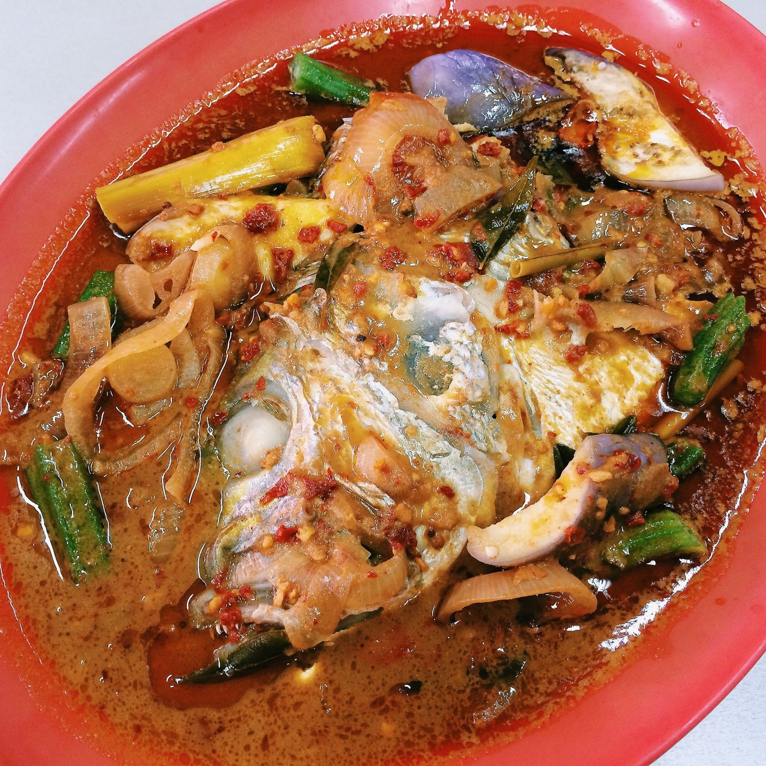 Curry Fish Head - Lau Hock Guan Kee Bak Kut Teh & Curry Fish Head