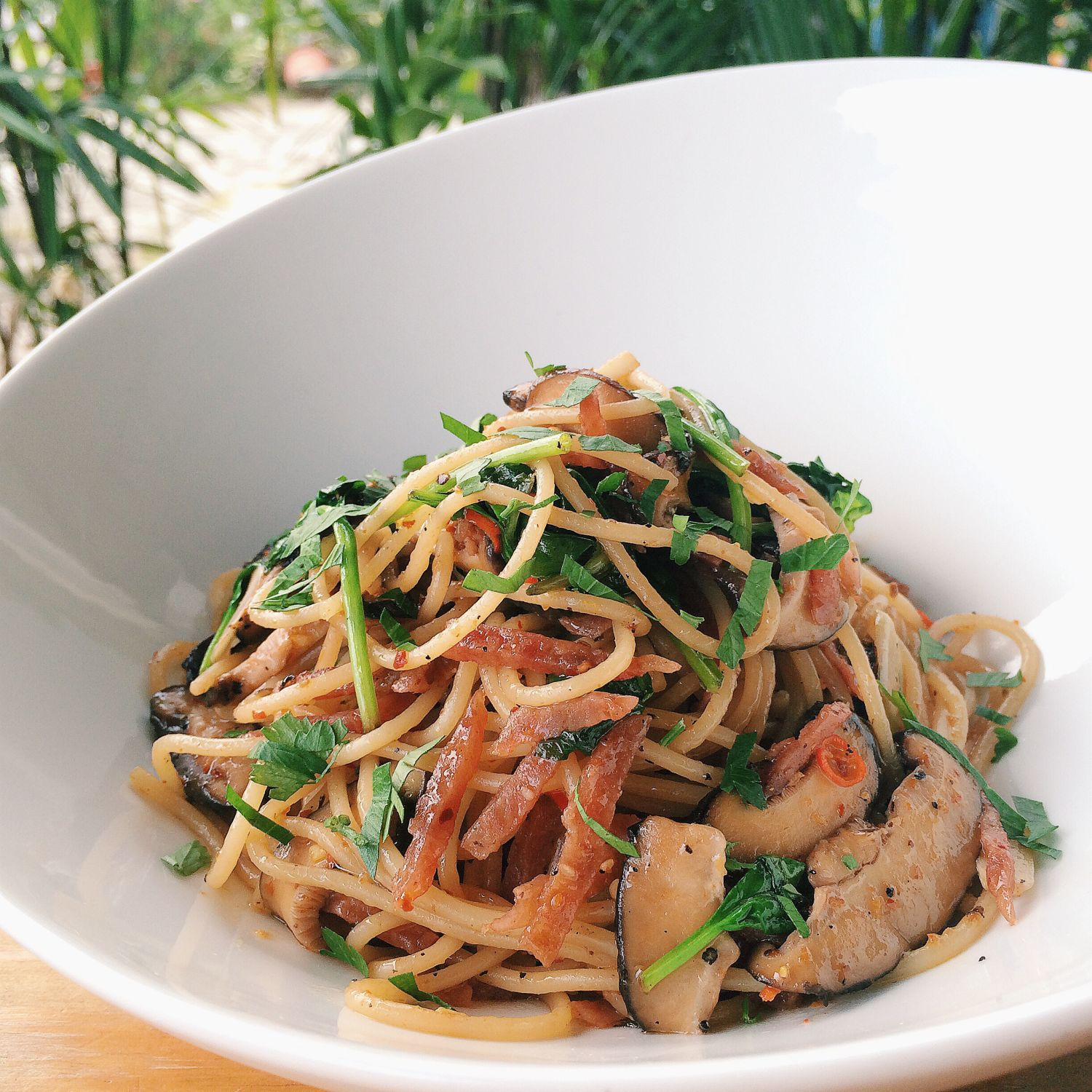 Lap Cheong Aglio Olio - Collective Brewers