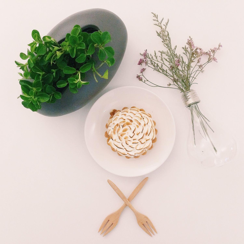 Passionfruit Meringue Tart - Cream & Custard