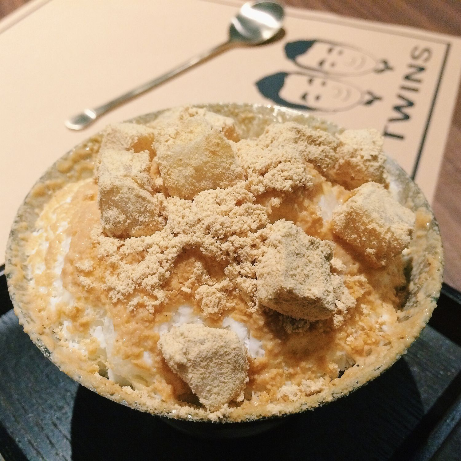 Bean Powder Snow Bingsu - Twins