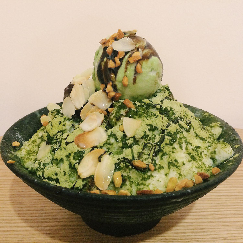 Green Tea Bingsu - O'Ma Spoon