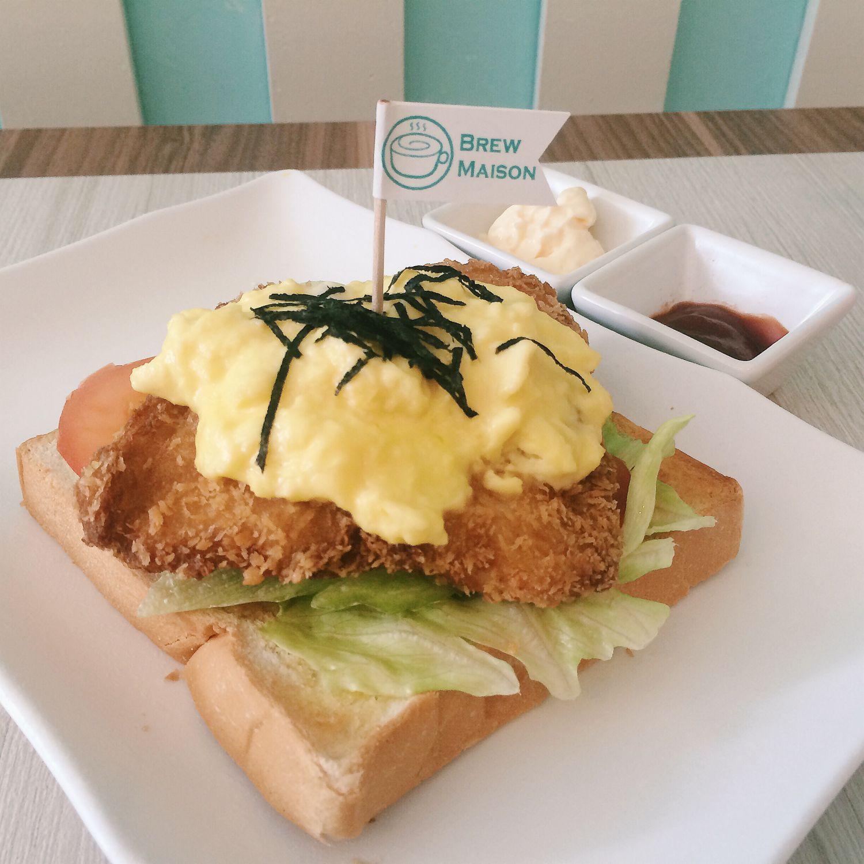Fish Dekku Toast - Brew Maison