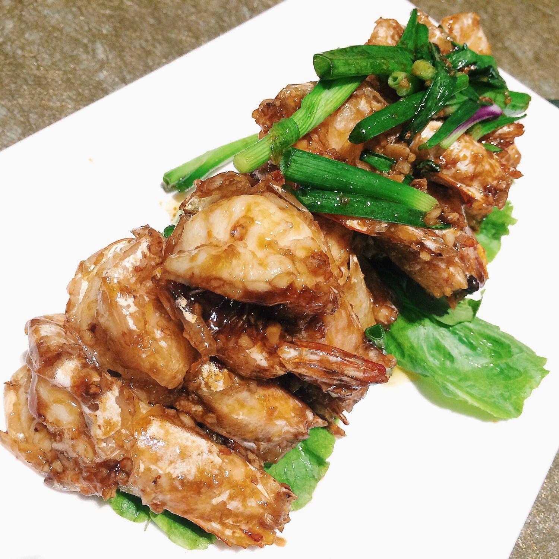 Chef Lee's Homestyle Wok Fried Prawns - Tao Seafood Asia