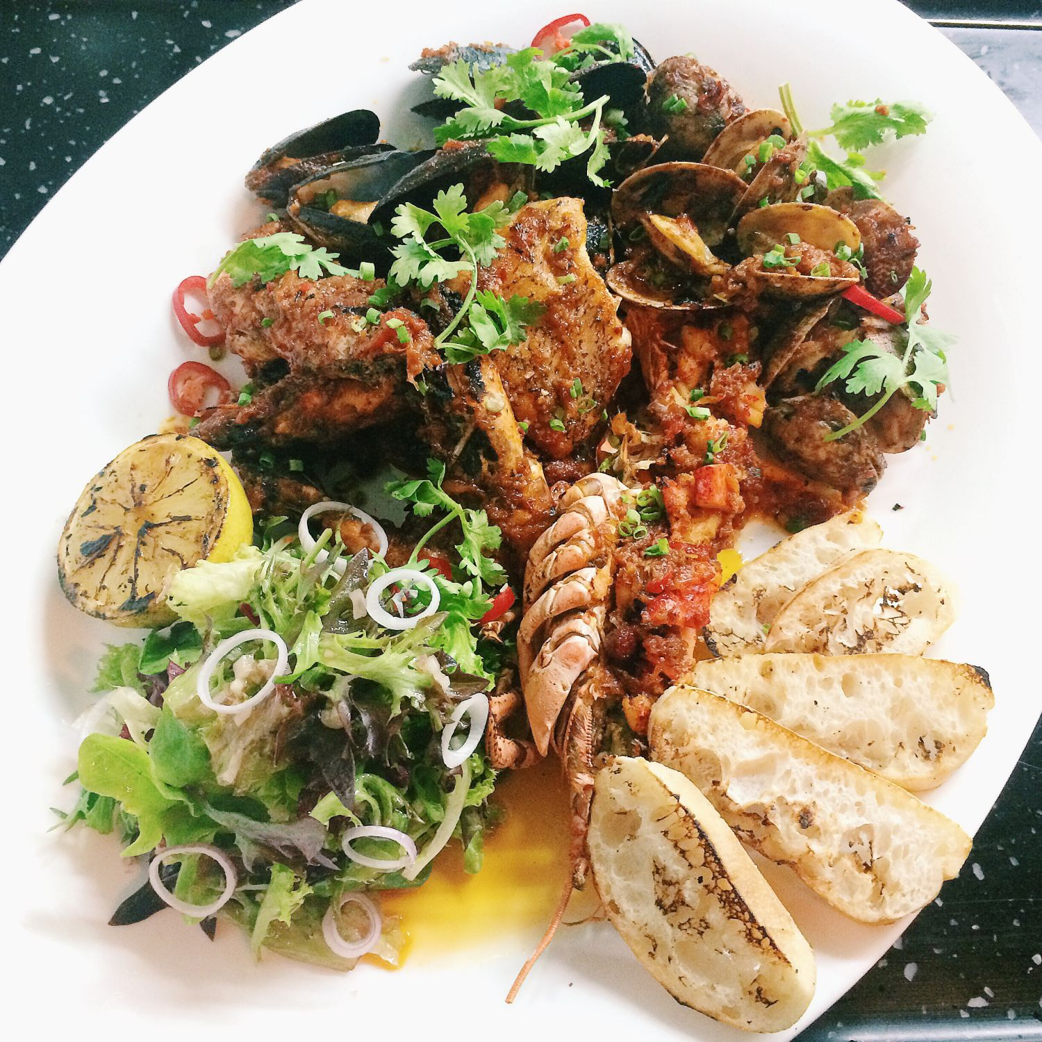 All-Hands-On-Deck Seafood Platter - The Prawn Star