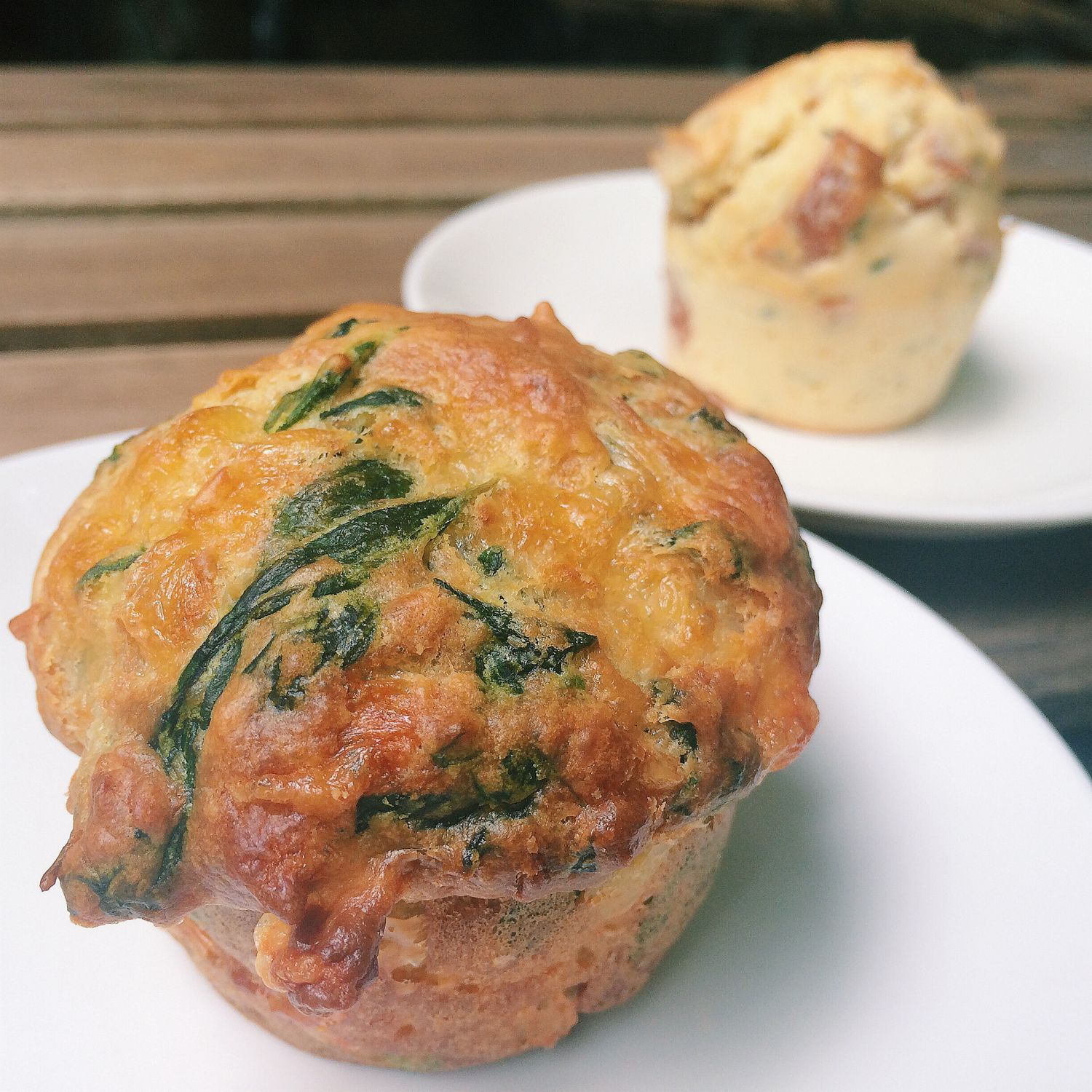 Spinach & Cheese Muffin - Richmond Station