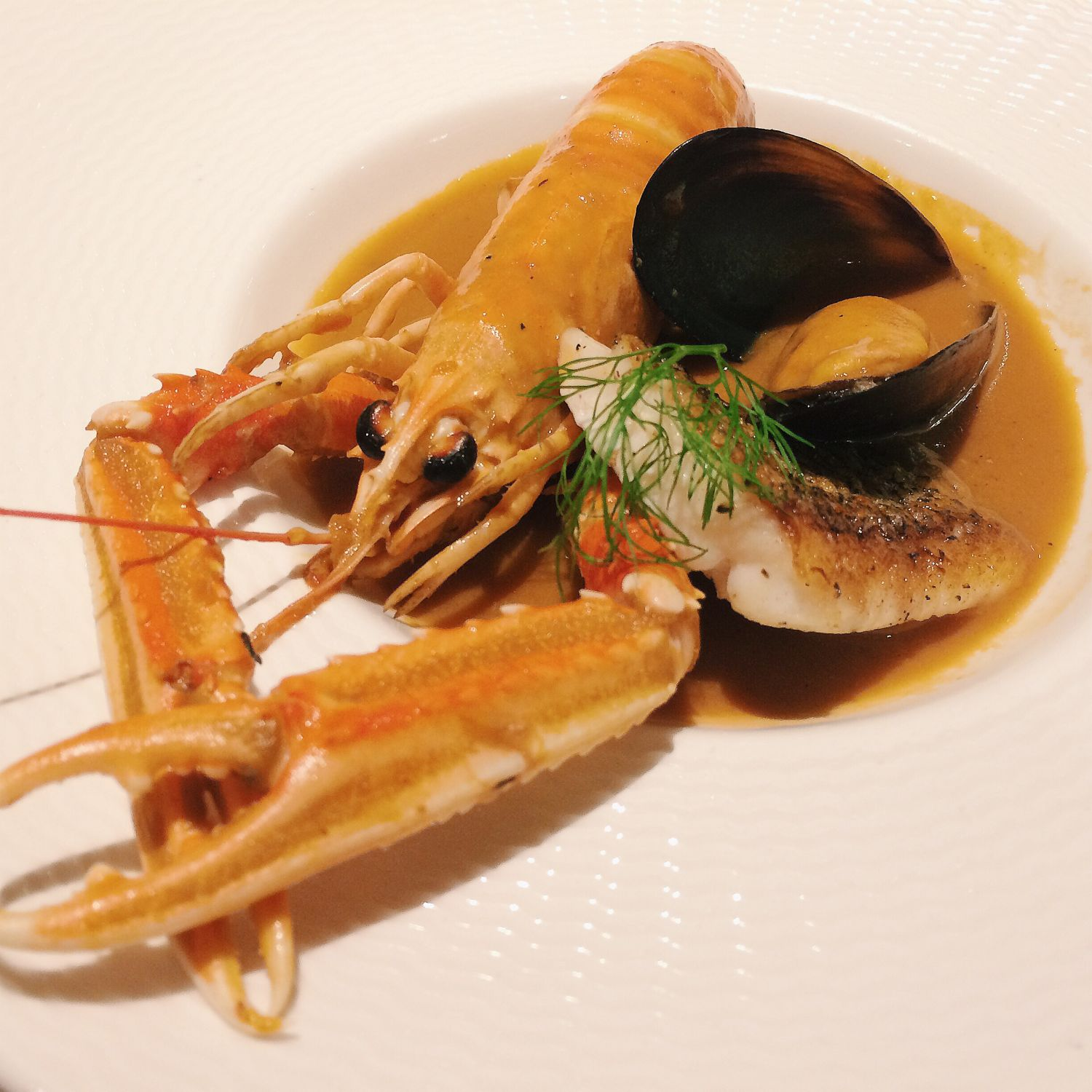 Seafood Bouillabaisse - The Royal Mail Restaurant & Bar