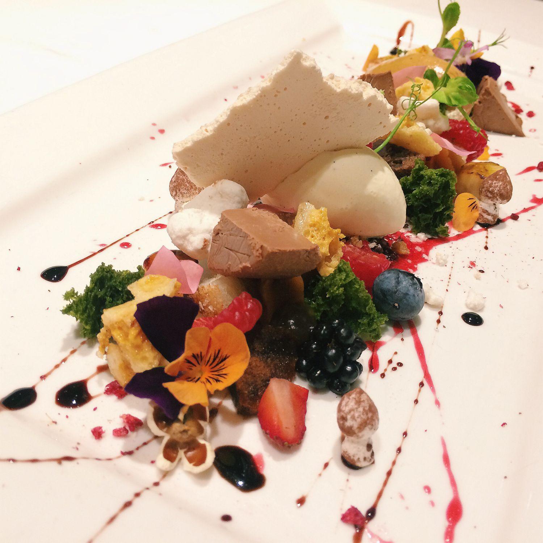 A Dessert Platter - The Royal Mail Restaurant & Bar