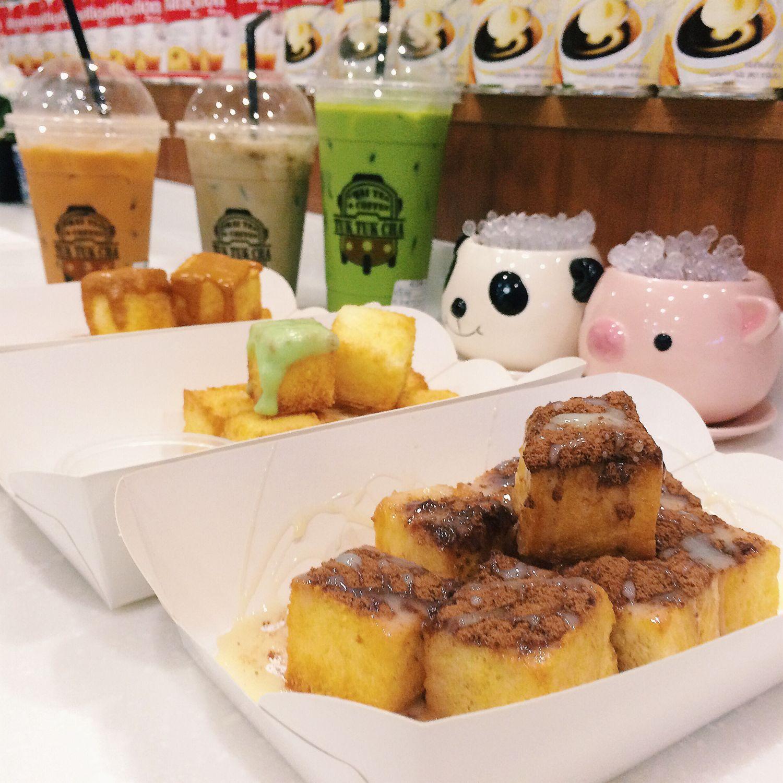 Golden Toast with Dips - Tuk Tuk Cha