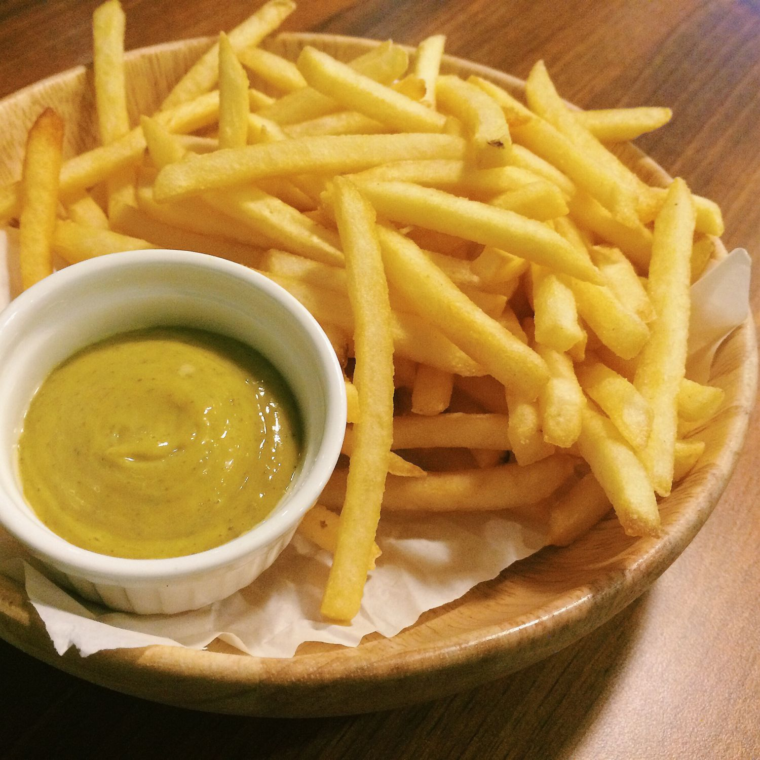 Salted Egg Fries - The Quarters