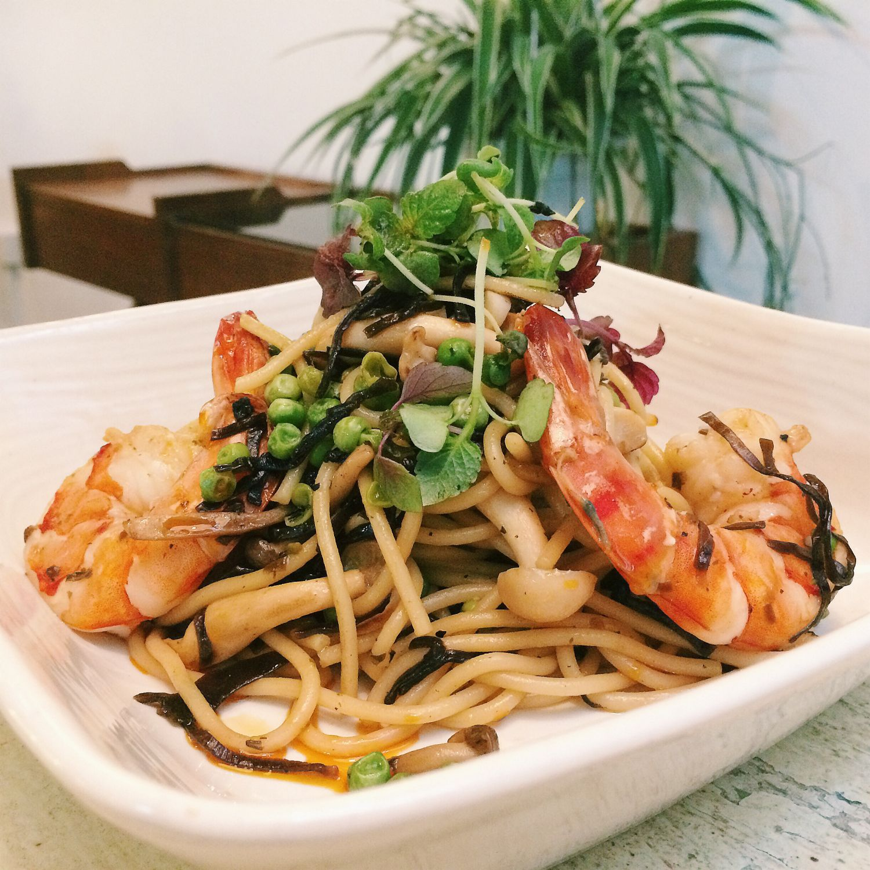 Ochazuke Konbu Spaghetti - Curious Palette