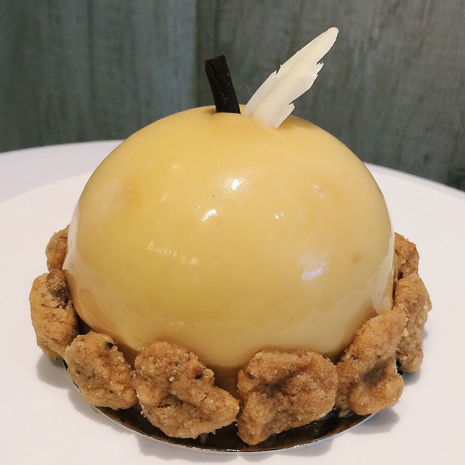 Caramelised Apple Mousse Cake - Bakersfield