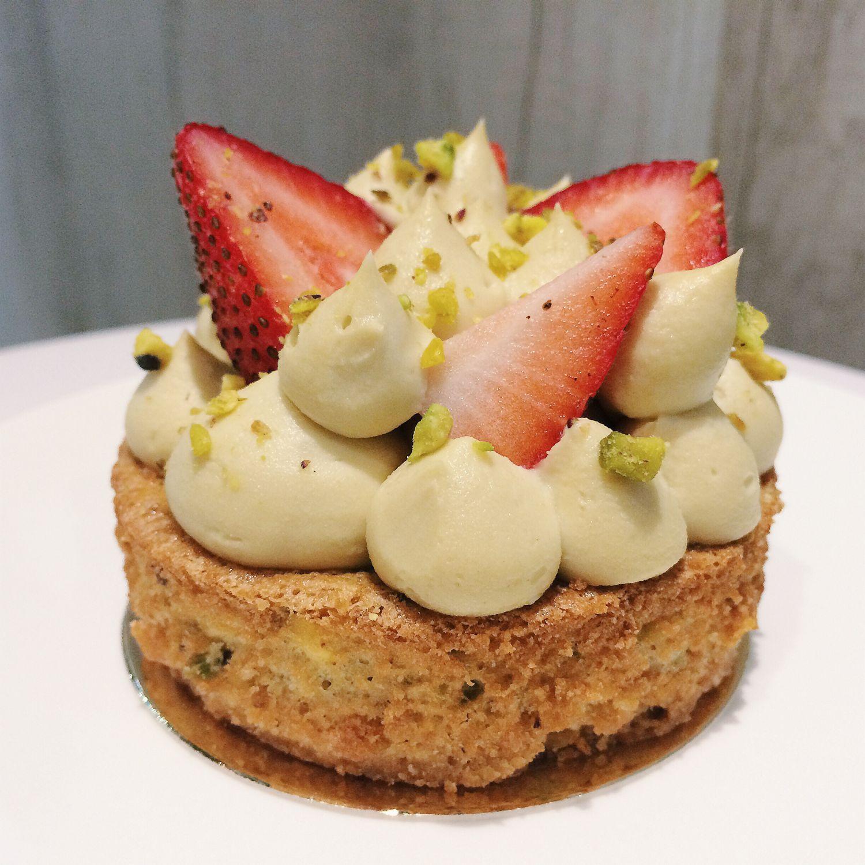 Pistachio Strawberry Tart - Bakersfield