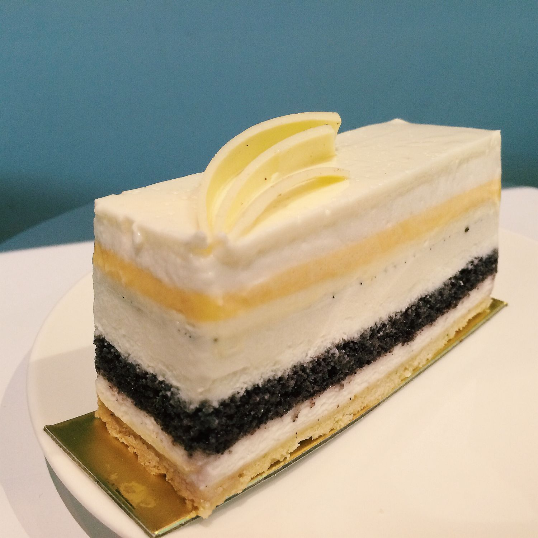 Black Glutinous Coconut Mousse Cake - Bakersfield