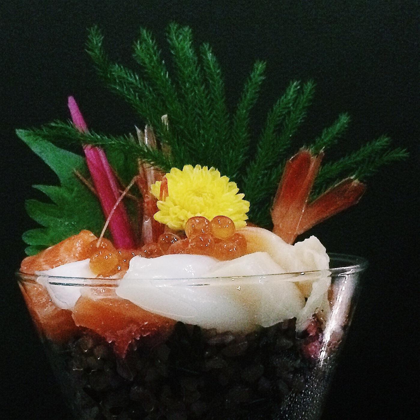 Chirashi Cupcake - Kinsa Sushi
