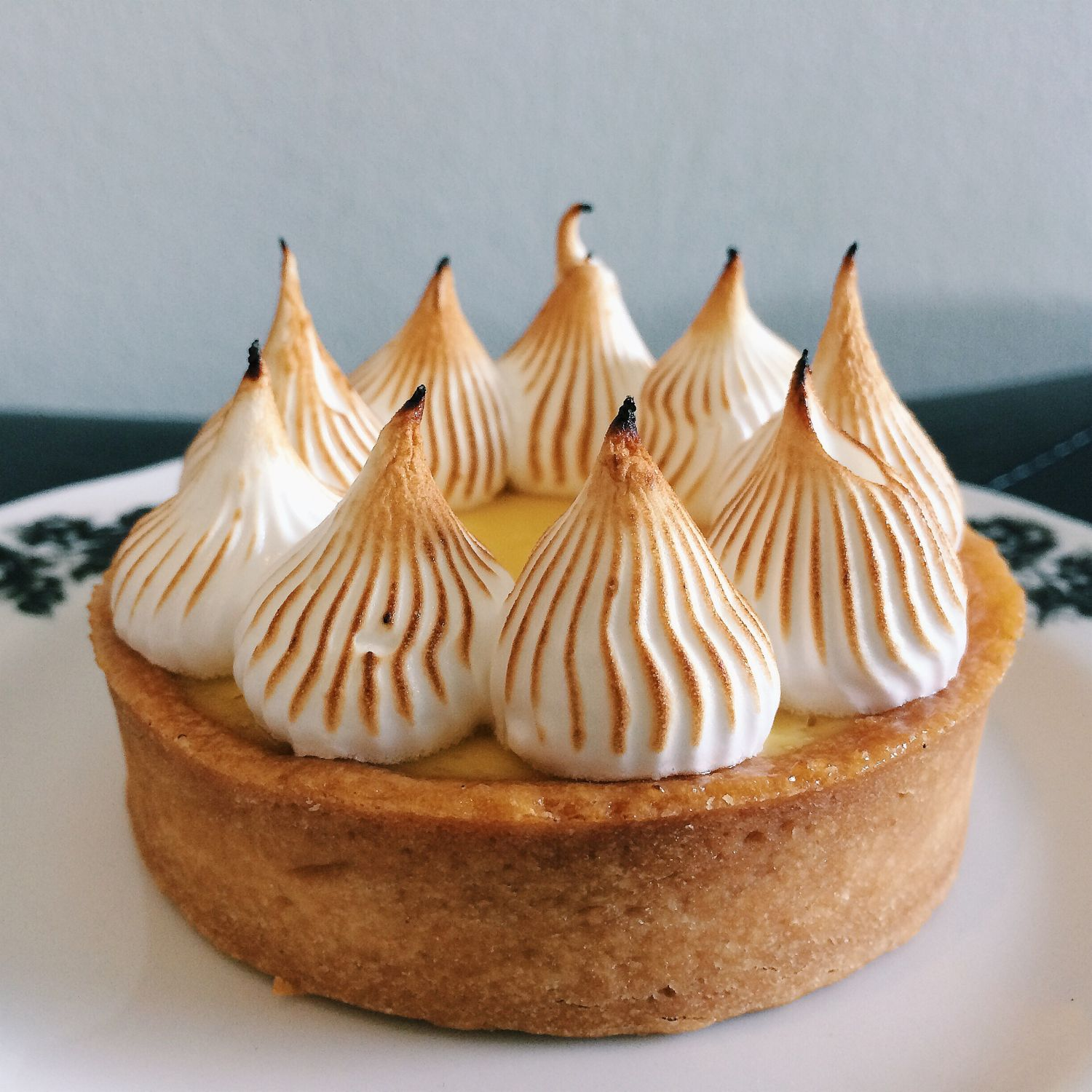 Passionfruit Meringue Tart - Bloomsbury Bakers