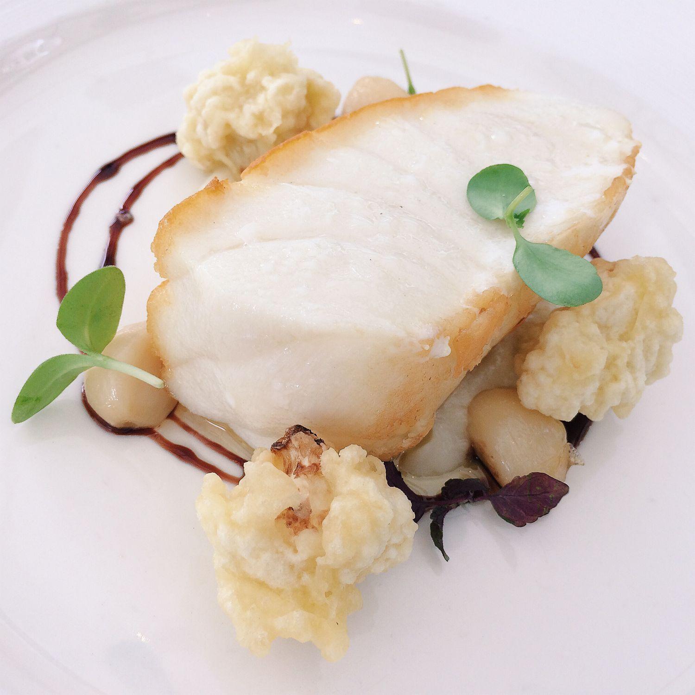Pan-fried Cod Fish - Pool Grill