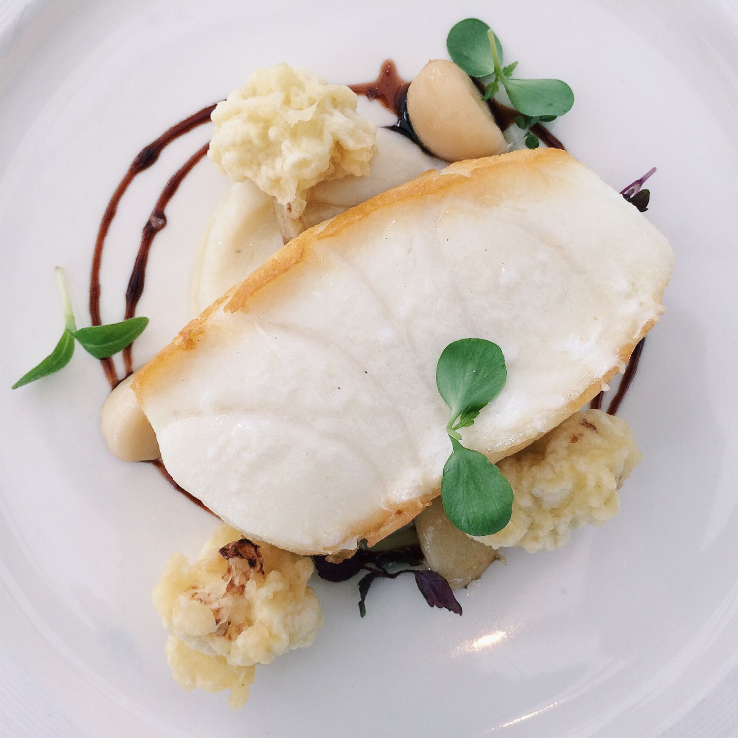 Pan-fried Cod Fish - Pool Grill