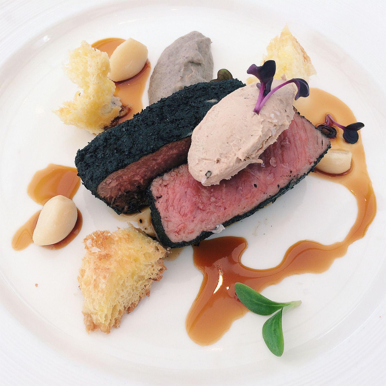Seared Lamb Loin - Pool Grill