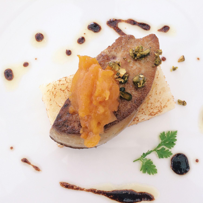 Pan-fried Duck Foie Gras - Pool Grill