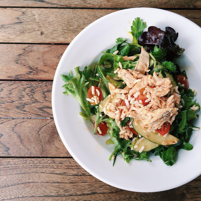 Singapore Chicken Rice Salad - Epicurious