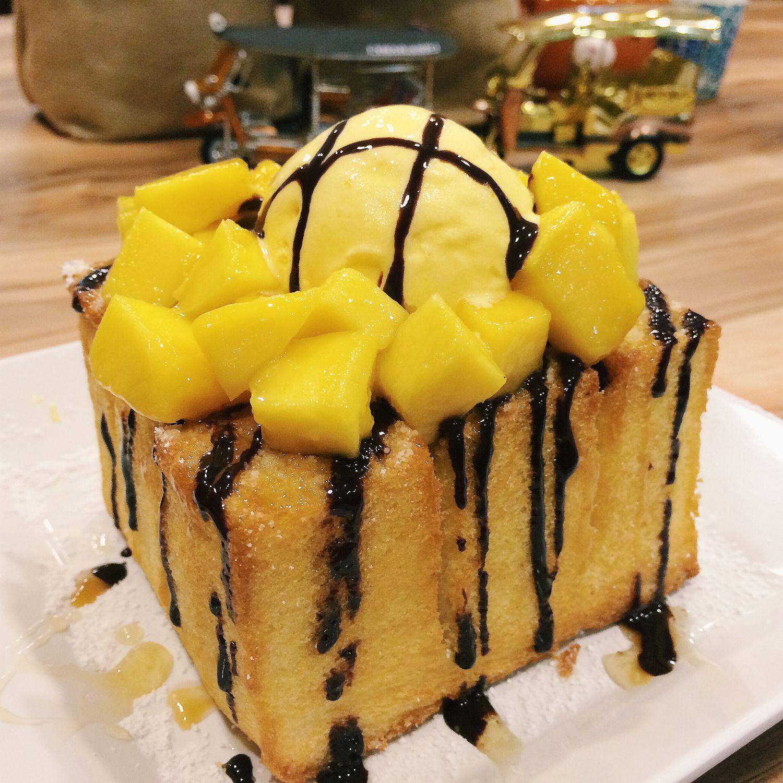 Mango Shibuya Toast - Tuk Tuk Cha