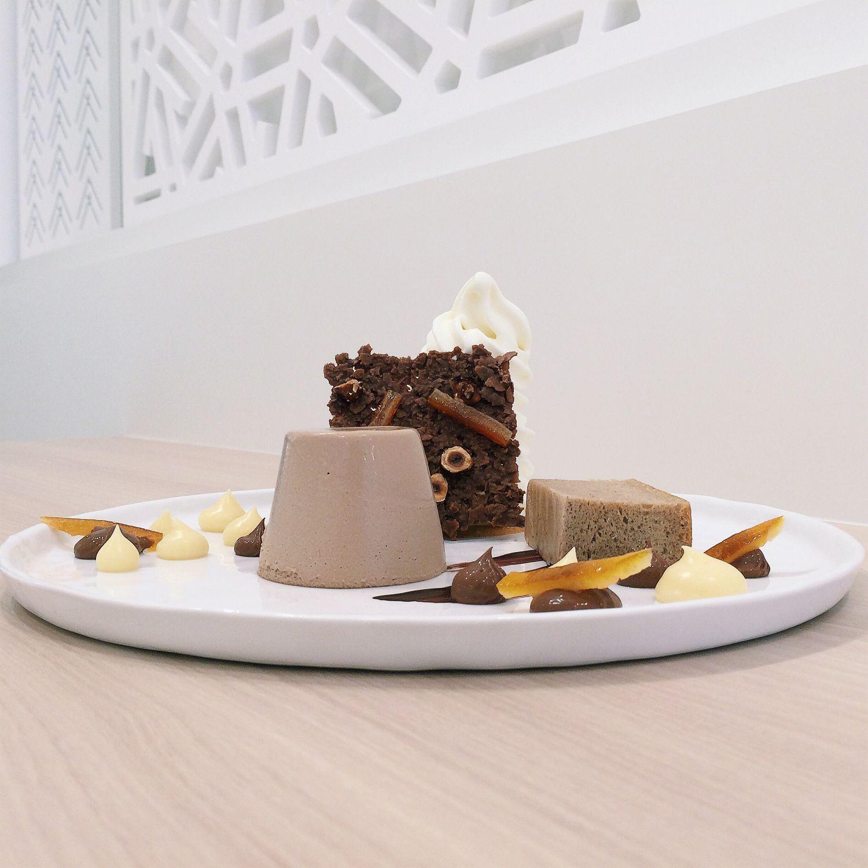 Gianduja Parfait - Karafuru Desserts