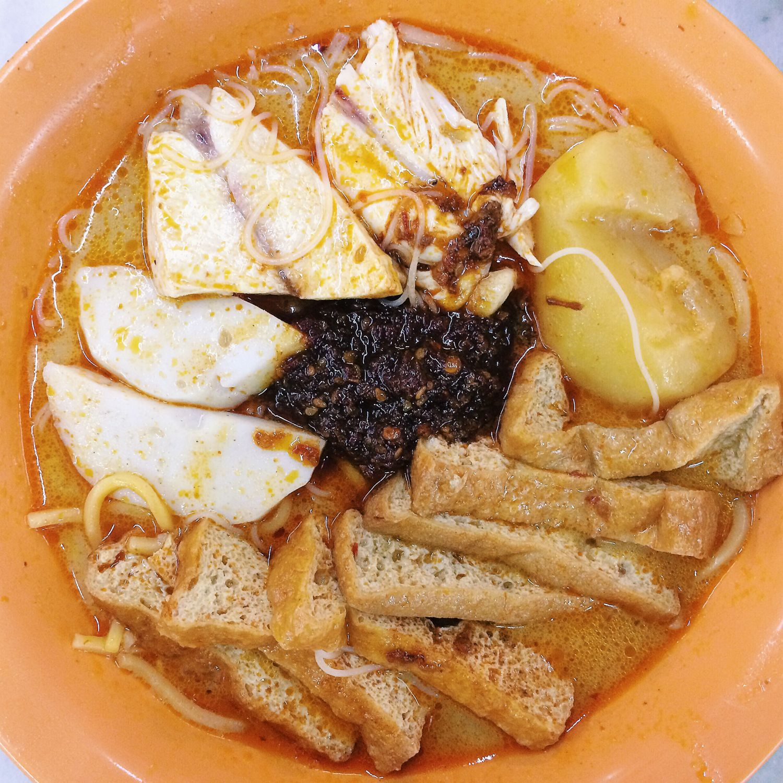 Curry Chicken Bee Hoon Mee - Ah Heng Curry Chicken Bee Hoon Mee