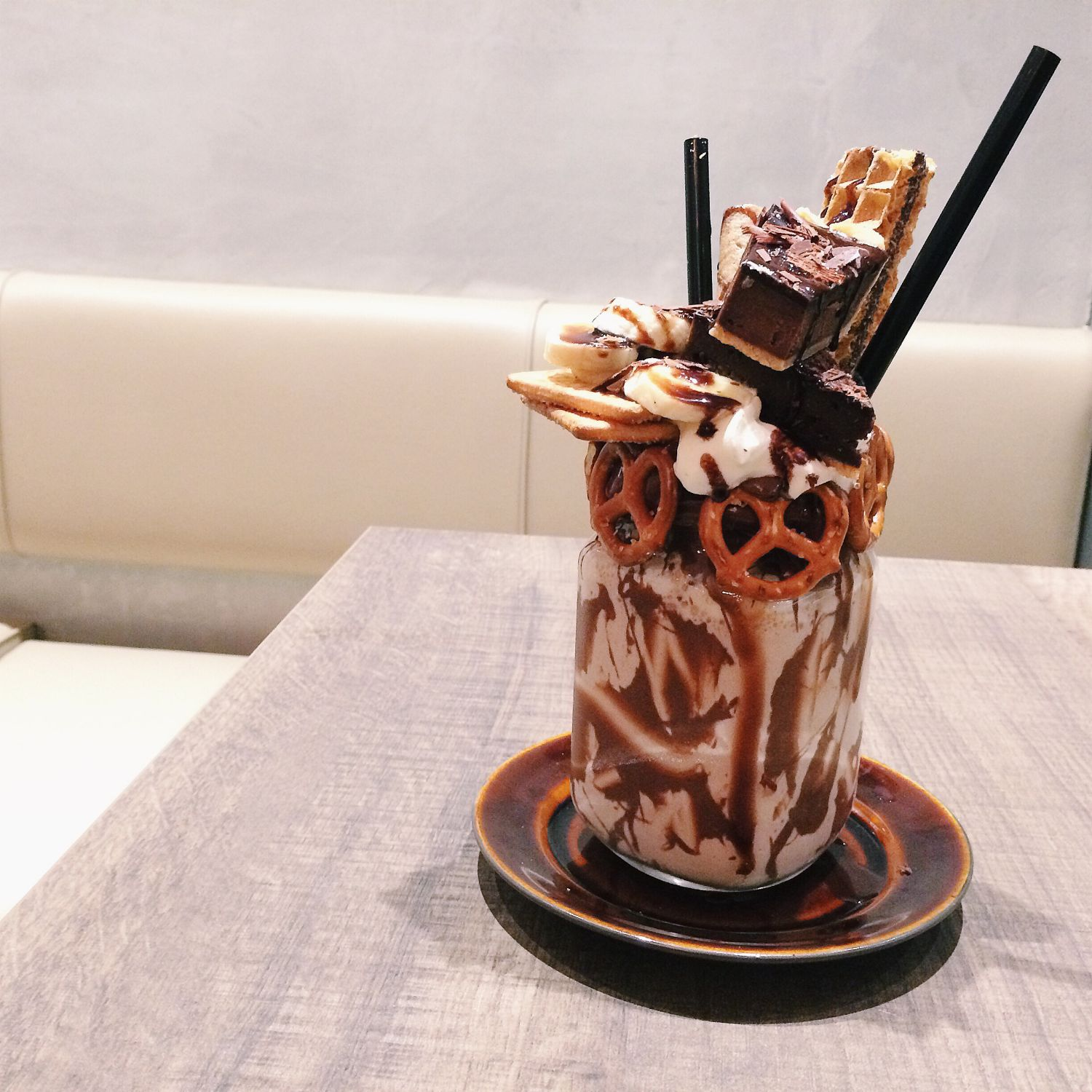 Over-The-Top Shakes - Nutella Banana - The Benjamins