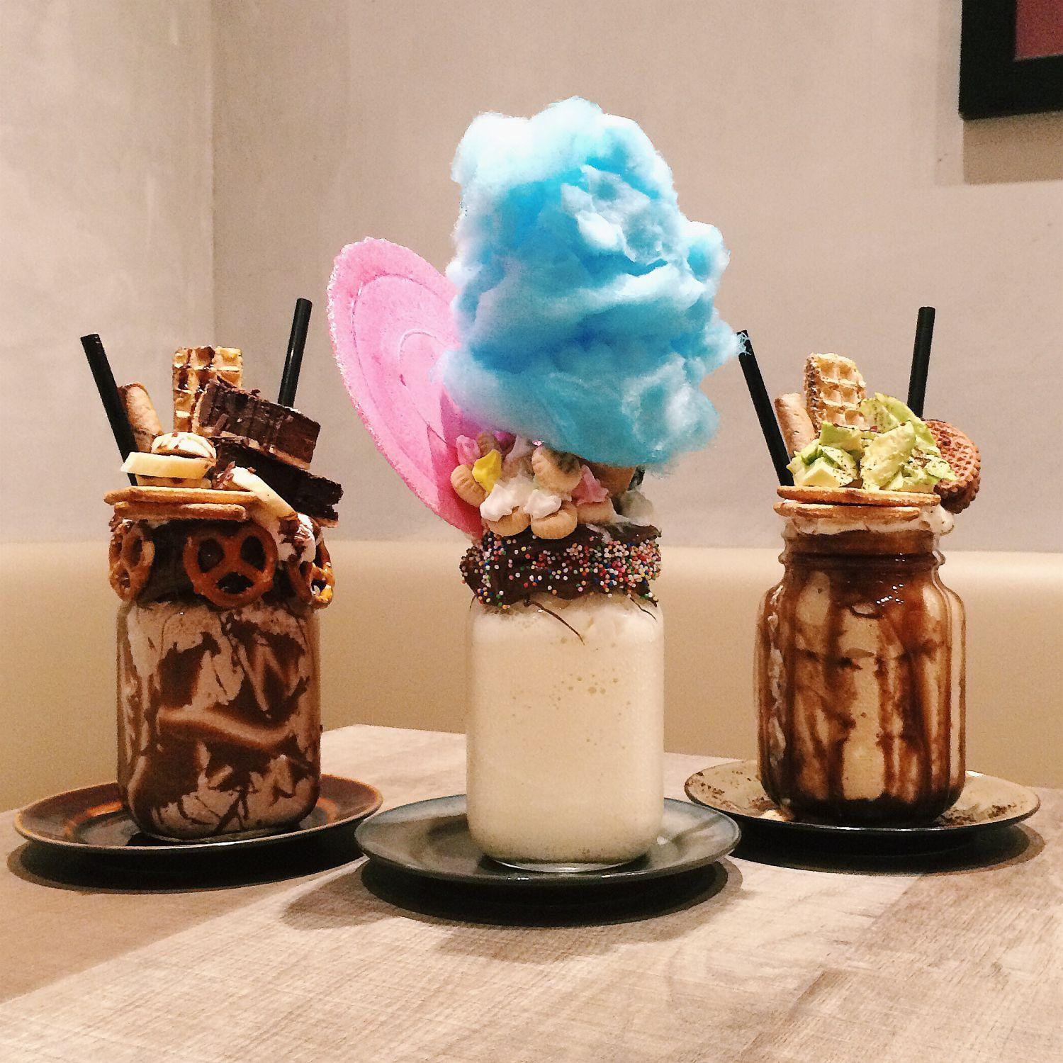 Over-The-Top Shakes - The Benjamins