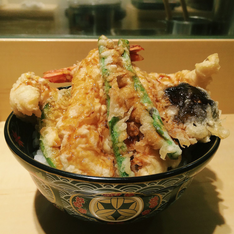 Special Tendon - Ginza Tendon Itsuki