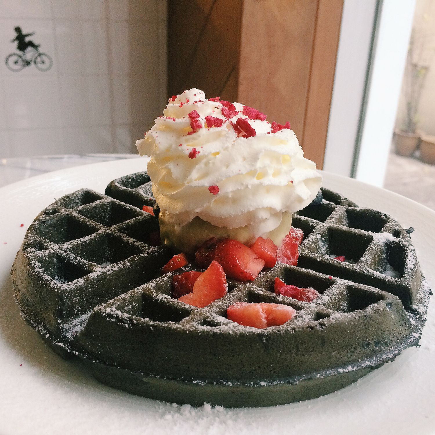 Charcoal Waffle - Claude's