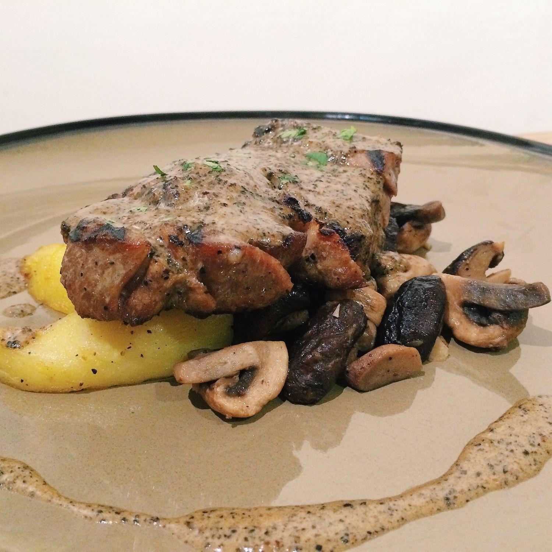 Pork Steak - KINS Restaurant
