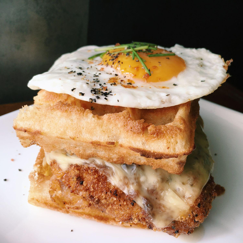 Chicken Waffle Stack - Monniker