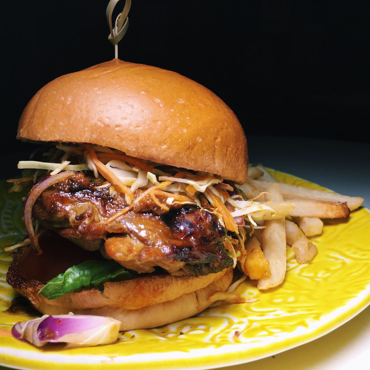 Ayam Bakar Burger - Black Nut