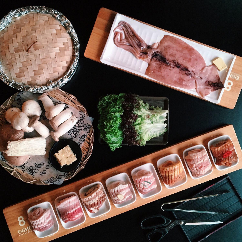 8 Colours Set - 8 Korean BBQ
