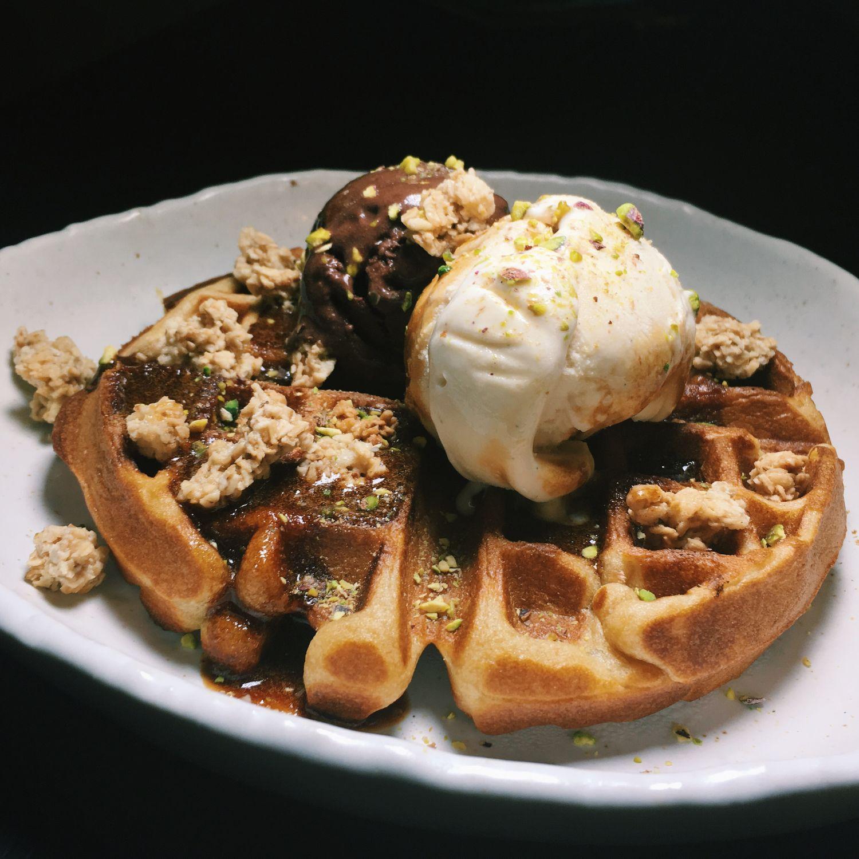Espresso Kahlua Waffle - 20F Specialty Coffeehouse