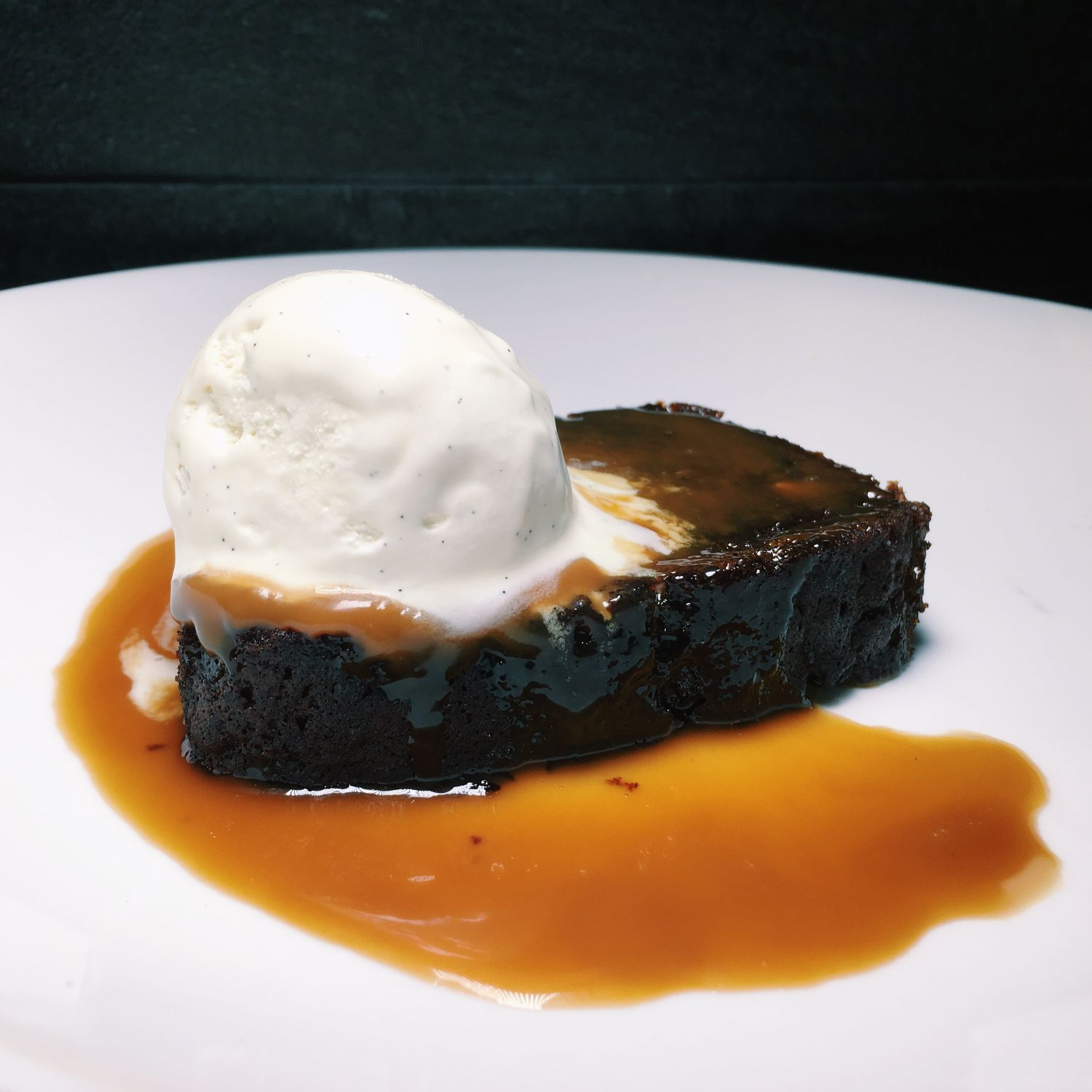 Sticky Toffee Pudding - Halia (Raffles Hotel)