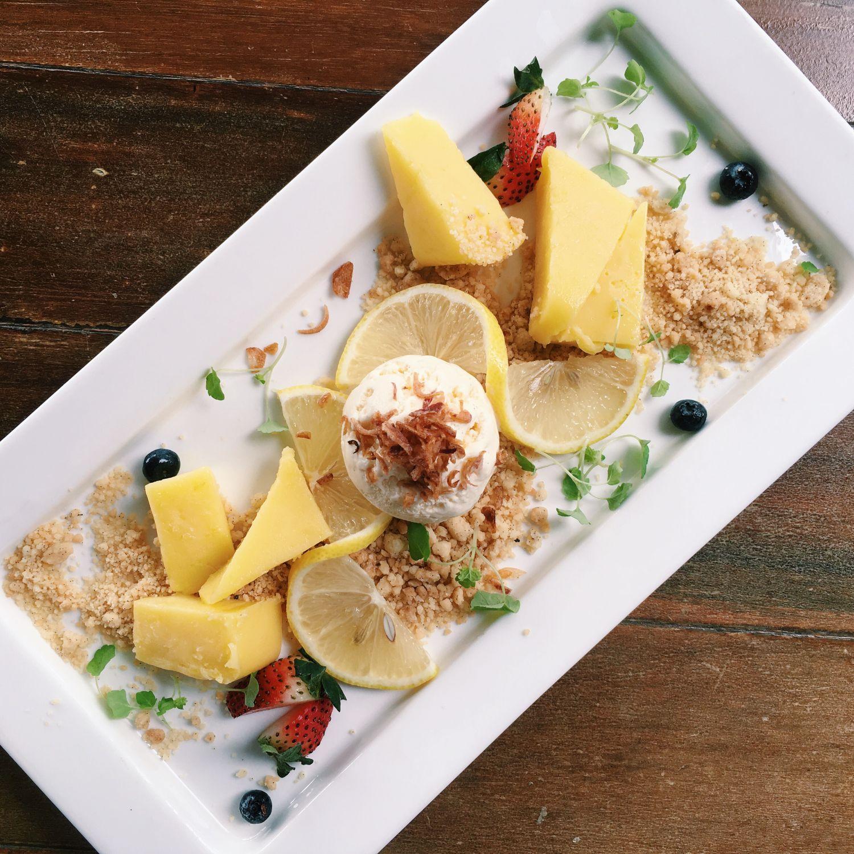 Deconstructed Lemon Tart - Plonk on Maju