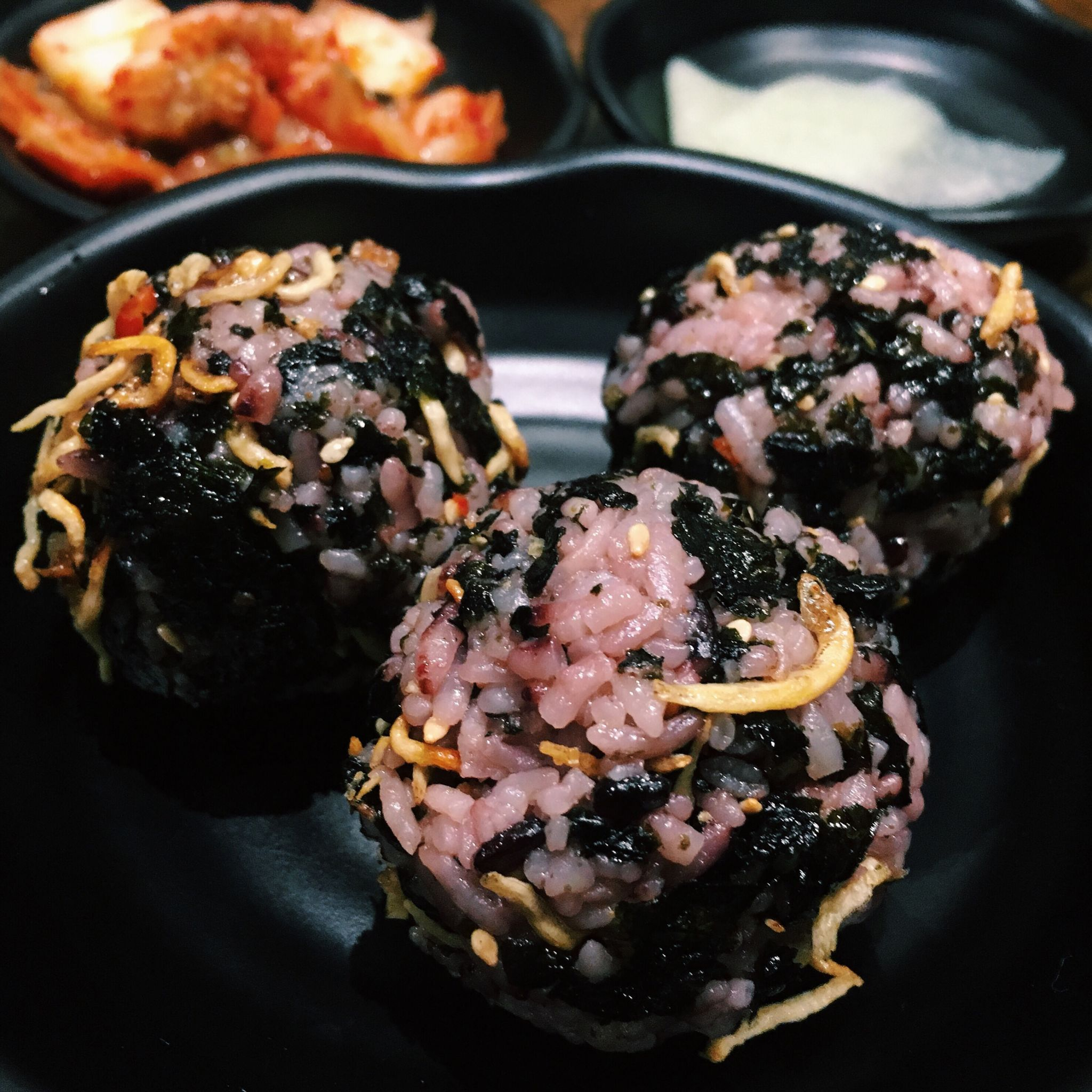 Anchovy Rice Balls - Masizzim Singapore