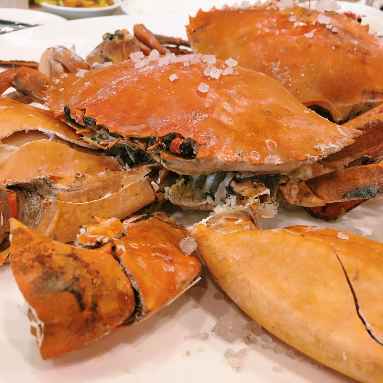Traditional Salt Baked Crab - Joyden Treasures