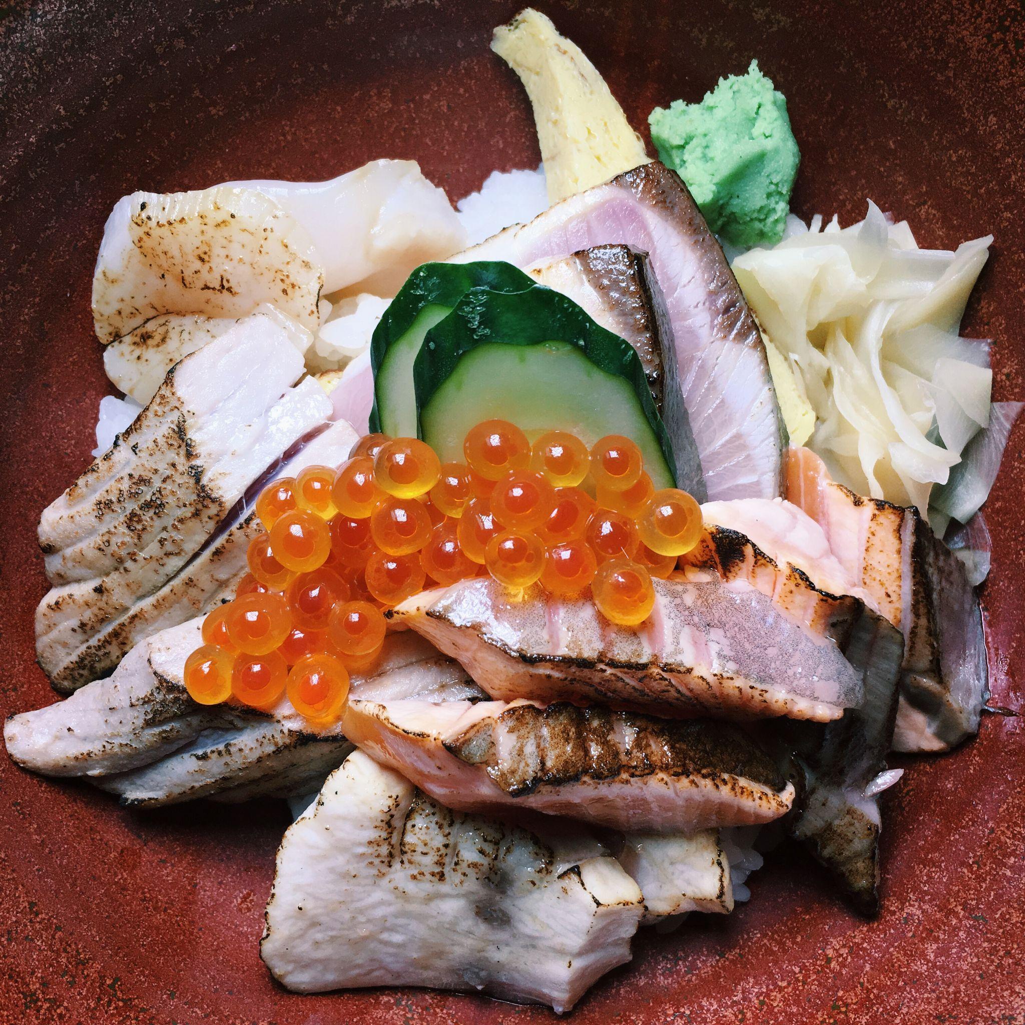 Aburi Kaisen Don - The Sushi Bar