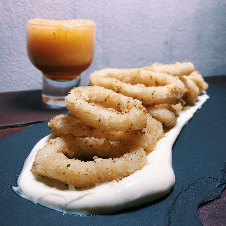Nori Squid - Dibs Restaurant Singapore
